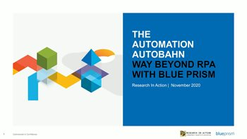The Automation Autobahn: Way Beyond RPA with Blue Prism