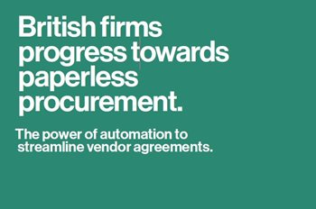 British Firms Progress Towards Paperless Procurement