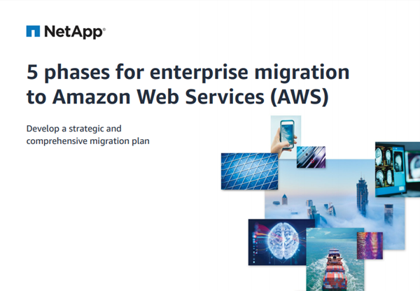 NetApp 5 Phases for Enterprise Migration to Amazon Web Se