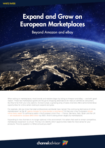 Expand and Grow on European Marketplaces