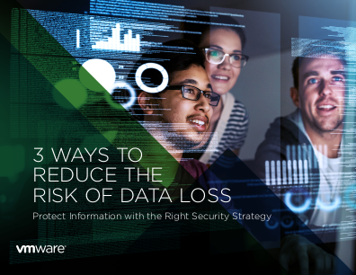 VMWare 3 Ways to Reduce the Risk of Data Loss