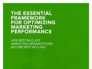 Allocadia The Essential Framework for Optimizing Marketing Performance