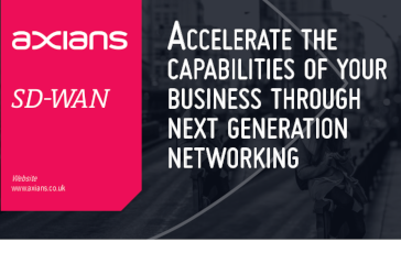 Axians Accelerate the Capabilities of Your Business through Next Generation Networking