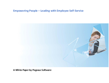 Empowering People – Leading with Employee Self-Service