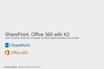 Microsoft SharePoint: From File Storage to Intelligent Business Solution