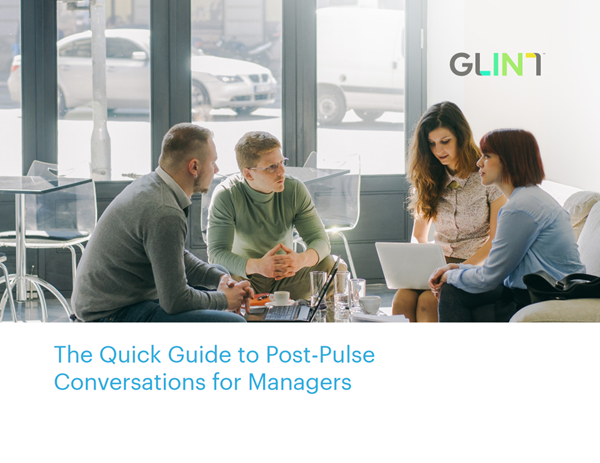 Glint The Quick Guide to Post-Pulse Conversations for Managers