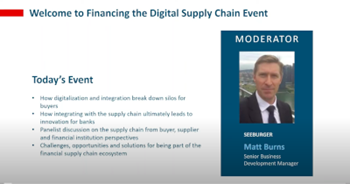 Financing the Digital Supply Chain