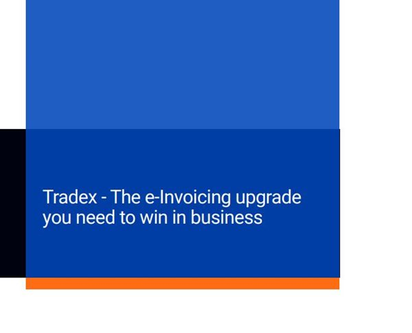 Causeway Tradex - The e-Invoicing upgrade you need to win in business