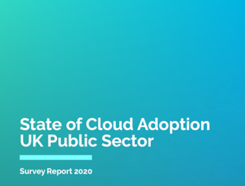 UKCloud State of Cloud Adoption UK Public Sector