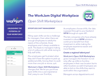 Workjam The WorkJam Digital Workplace