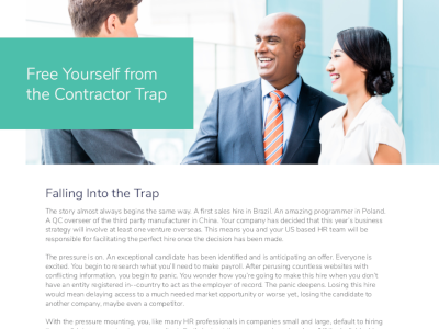 Globalization Partners Free Yourself from the Contractor Trap