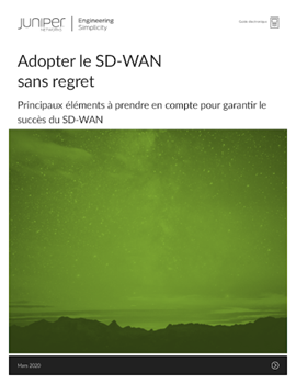 Adopter le SD-WAN sans regret