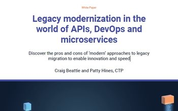 Legacy Modernization in the World of APIs, DevOps and Microservices