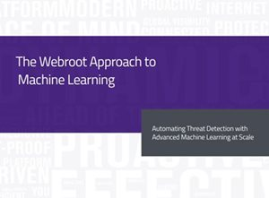 Webroot The Webroot Approach to Machine Learning