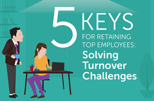 PayScale 5 Keys for Retaining Top Employees