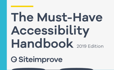 Siteimprove The Must-Have Accessibility Report 2019
