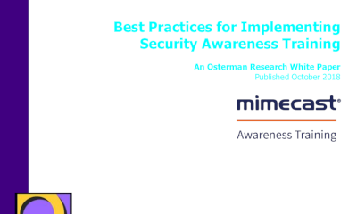 Mimecast Best Practices for Implementing Security Awareness Training