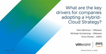 What are the Key Drivers for Companies Adopting a Hybrid-Cloud Strategy?