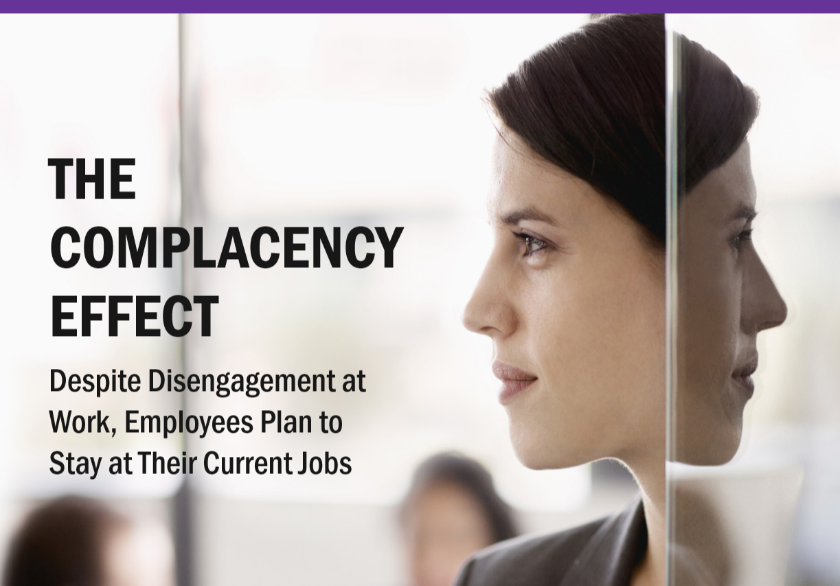 The Complacency Effect: Despite Disengagement, Emp