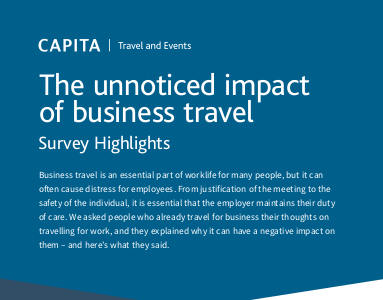 capita The Unnoticed Impact of Business Travel [Infographic]
