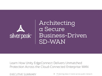 Silver Peak Architecting a Secure Business-Driven SD-WAN