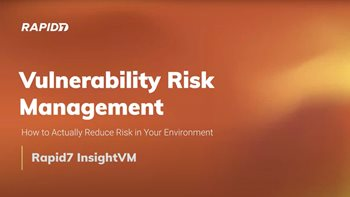 Vulnerability Risk Management