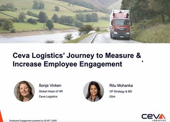 CEVA Logistics' Journey to Increase and Measure Employee Engagement