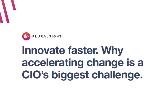 Accelerating Change is a CIO's Biggest Challenge