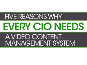 Panopto 5 Reasons why Every CIO Needs a Video Content Management System