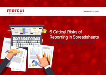 Mercur 6 Critical Risks of Reporting in Spreadsheets (And How to Stop Them)