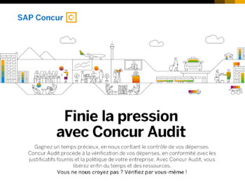 SAP Concur Finie la pression avec Concur Audit