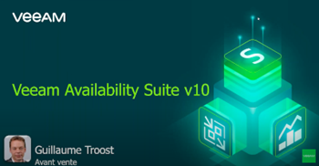 NOUVELLE Veeam Availability Suite v10. Faster. Stronger. Smarter.