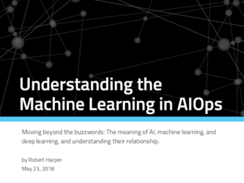 Moogsoft Understanding the Machine Learning in AIOps