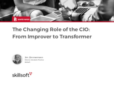 Skillsoft The Changing Role of the CIO