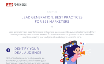 Lead Forensics Lead Generation: Best Practices for B2B Marketers